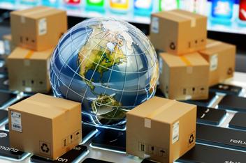 Titelbild der Studie Internationaler E-Commerce – Chancen und Herausforderungen aus Händlersicht