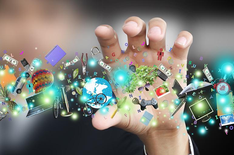 Titelbild der Studie Digitalisierung der Gesellschaft 2014
