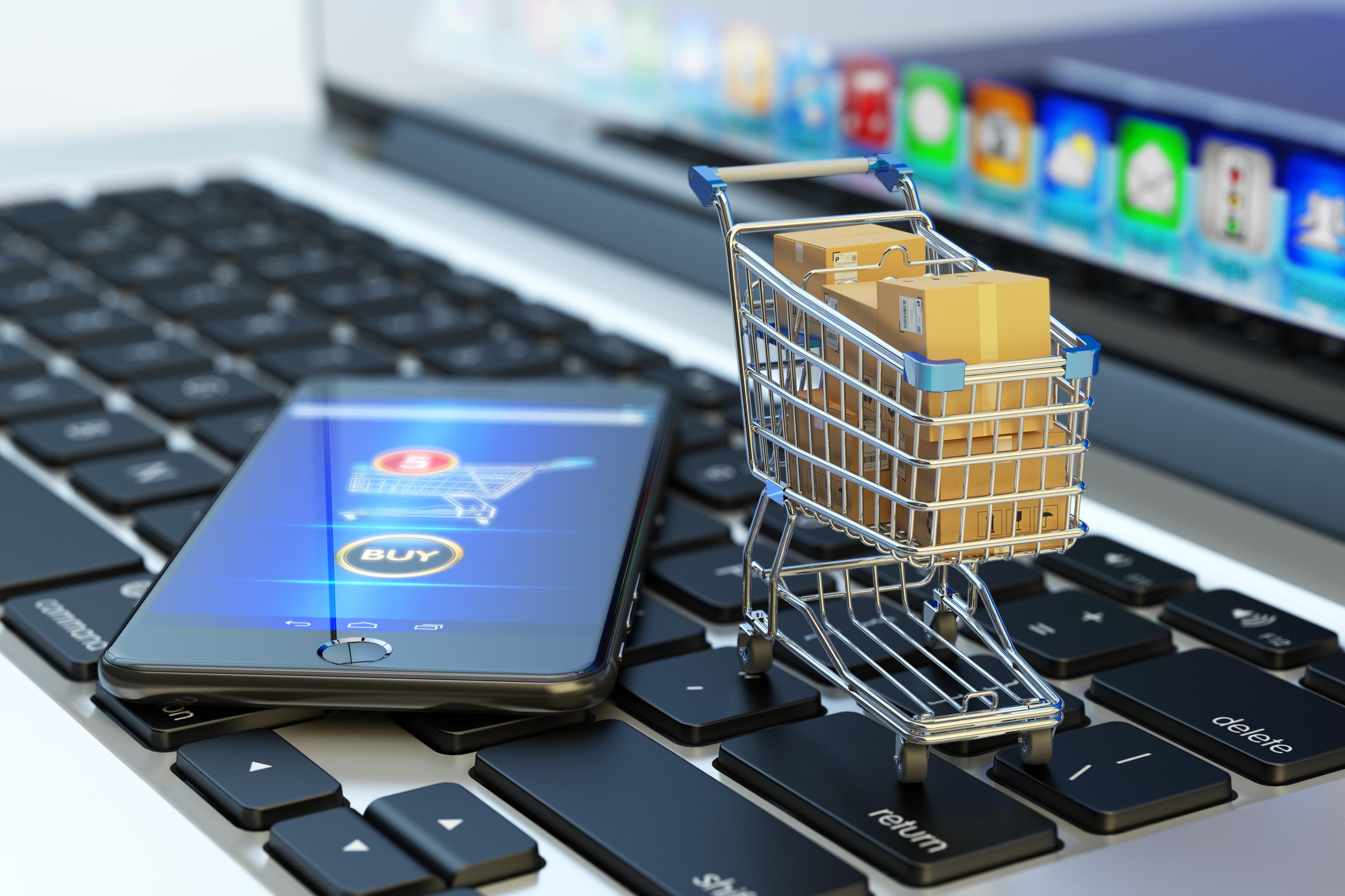 Titelbild der Studie Handel im digitalen Wandel: wie online eingekauft wird