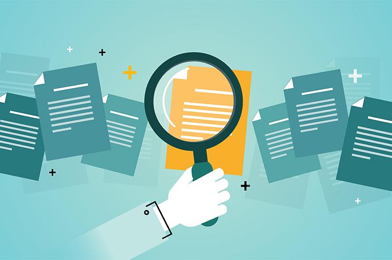Titelbild der Studie Elektronische Rechnungsabwicklung und Archivierung
