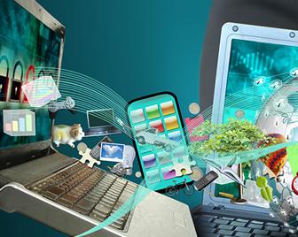 Titelbild der Studie Künstliche Intelligenz in der Finanzdienstleistung
