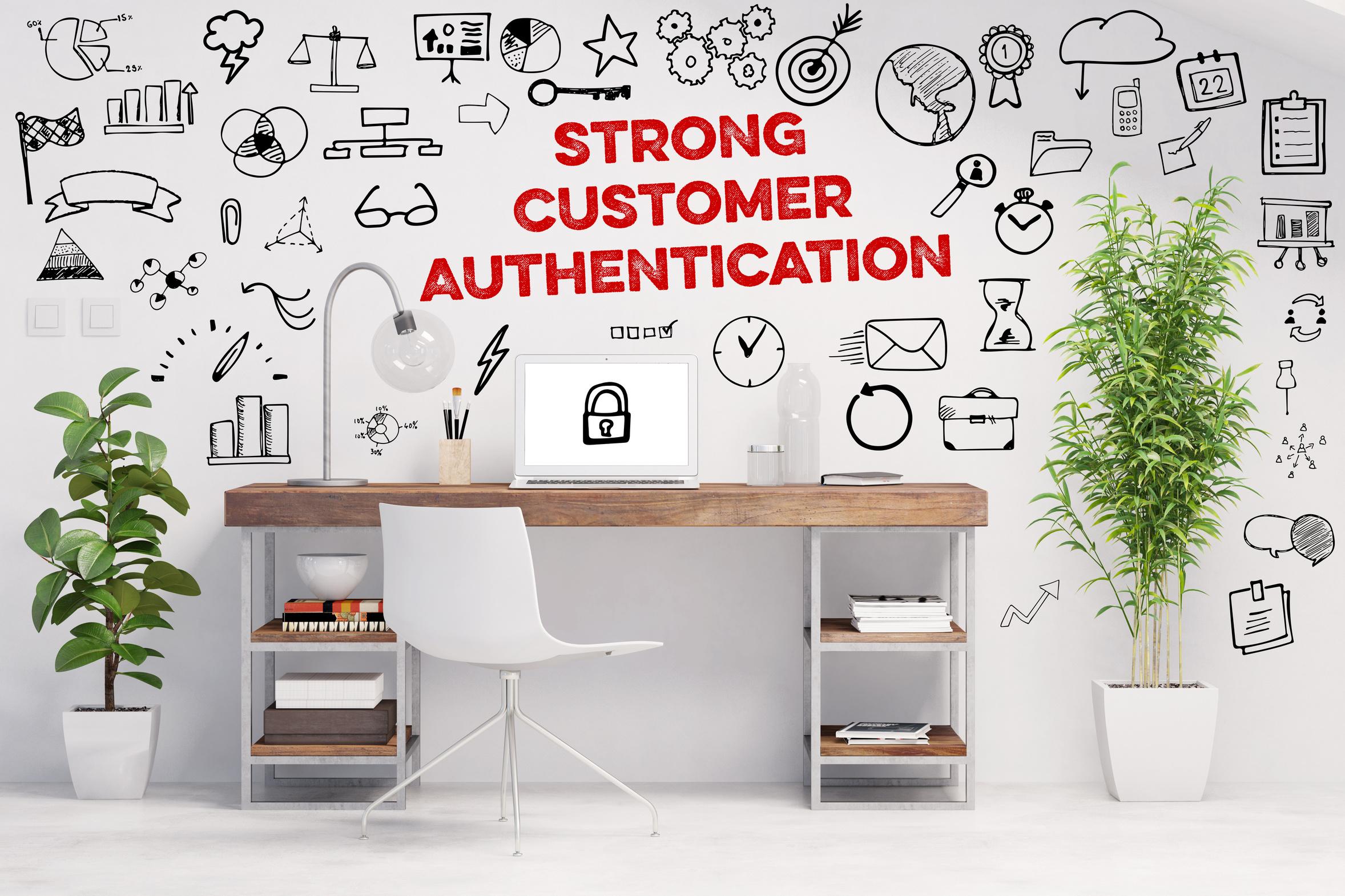 Titelbild der Studie Starke Kundenauthentifizierung – Der deutsche Online-Handel vor dem 14.09.
